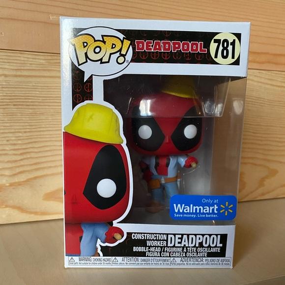 Deadpool Construction Worker Funko Pop